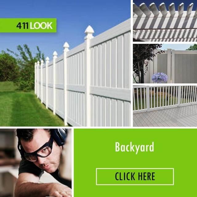 Valencia Vinyl Fence