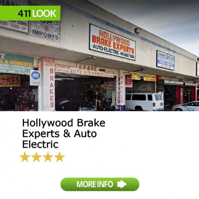 Hollywood Brake Experts & Auto Electric