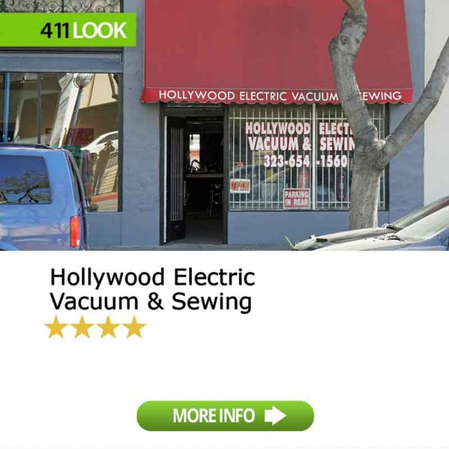 Hollywood Electric Vacuum & Sewing