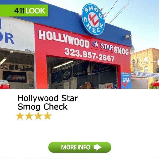 Hollywood Star Smog Check